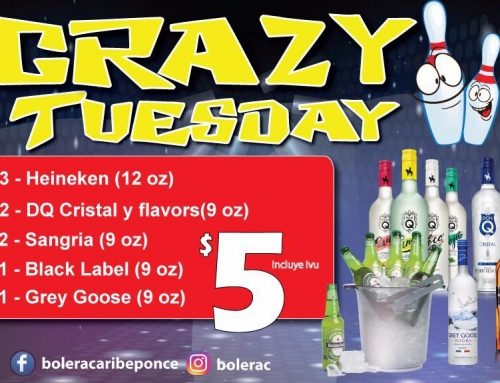 Crazy Tuesdays