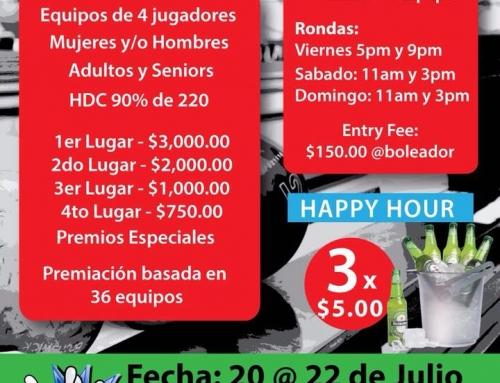 Copa XXY Julio 3era edición